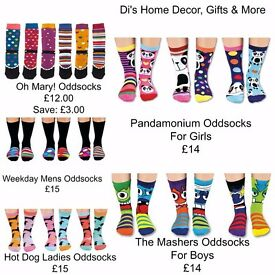 Odd socks for all the family
