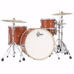 "Gretsch Catalina Club Rock 4 pièces 13-16-24 -snare 6.5x14"" Shell Kit / Kit neuf"