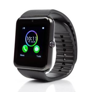 Black GT08 Smart Watch with Bluetooth- BNIB- Shipping Available