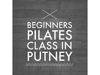 Beginners Pilates in Putney