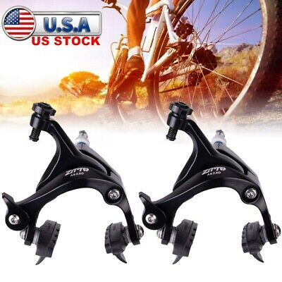BLACK TRP R879 Road Bike Front /& Rear Caliper Brake Set