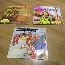 Vintage Children's Vinyls