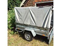 Unbraked 750kg trailer