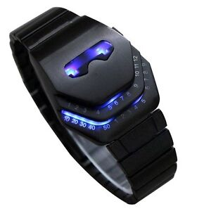 Men's Watch Peculiar Cool Gadgets Interesting Amazing Snake Head Design Blue LED