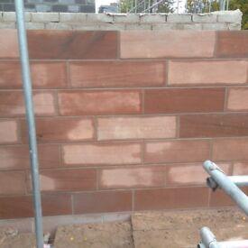 Edge brickwork