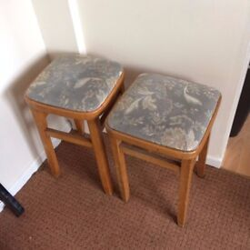 2 old stools