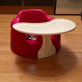 Pink Kids Bumbo Seat