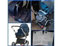 Mothercare Roam Pushchair and Infant Carrier