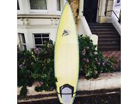 """Nigel Semmens 6'6"""" Surfboard"""