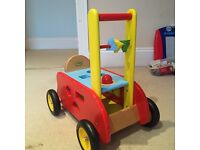 Vilac Wooden Ride-on Baby Walker