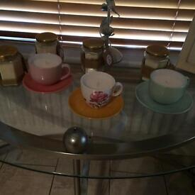 Home made sented candles