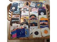 Over 100 records/vinyl (7ins & 12ins) £25 ono