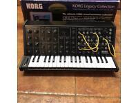 KORG MS20 legacy edition midi synthesiser