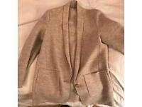 Massimo Dutti - Long Blazer/Cardigan, size L