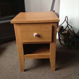 New teens bedside cabinet with cat handle