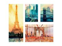 Picture, set of 4, City icons   by Ikea