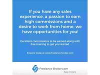 Freelance sales executives required