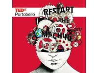 Open call for volunteers for TEDx Portobello; May 2017.