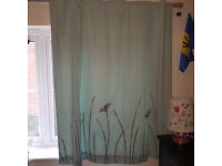 Next Meadow Curtains 137cm wide x135cm long,