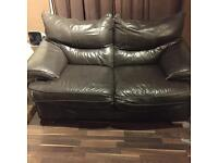 2 seater faux leather sofa for free!!!