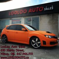2009 Subaru Impreza WRX STi STI Turbo AWD 6 Speed Matte Orange W