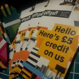 FREE!! giffgaff SIM Card with £5's worth of Credit