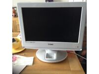 """Technika 19""""tv with free view and iPod docking station"""