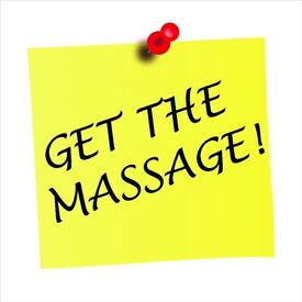 Get The Massage! Swedish Massage for deep relaxation and a sense of well-being.
