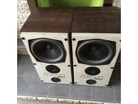 Mission 707 retro loud speakers. Quality sound.