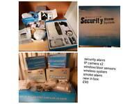 Full security camera alarm system
