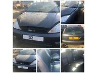 Ford Focus Chic 2002 1.6 3 Door Magnum Grey k1 Manual Petrol (front bumper) All Parts Available