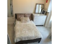 STUNNING 1 bedroom beautifully furnished studio style flat £430 pcm ideal location Harley St G51 1AJ