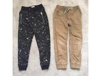 Boys NEXT joggers & trousers. Age 7