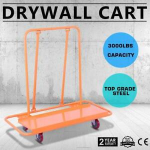 3000LBS Drywall Cart Dolly Handling Heavy-duty Sheetrock Sheet Professional - FREE SHIPPING