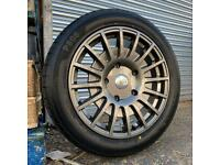 """Brand New Load Rated Ford Transit Custom Motorsport Style Back in stock 18"""" alloys wheels tyres"""