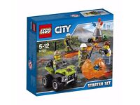 LEGO 60120 Volcano Starter Construction: Brand new and unopened