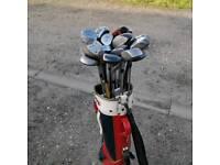 Bag if 25+ metal eood golf clubs