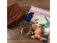 Aromatherapy Oil box including 12 oils & Aromatherapy basics guide