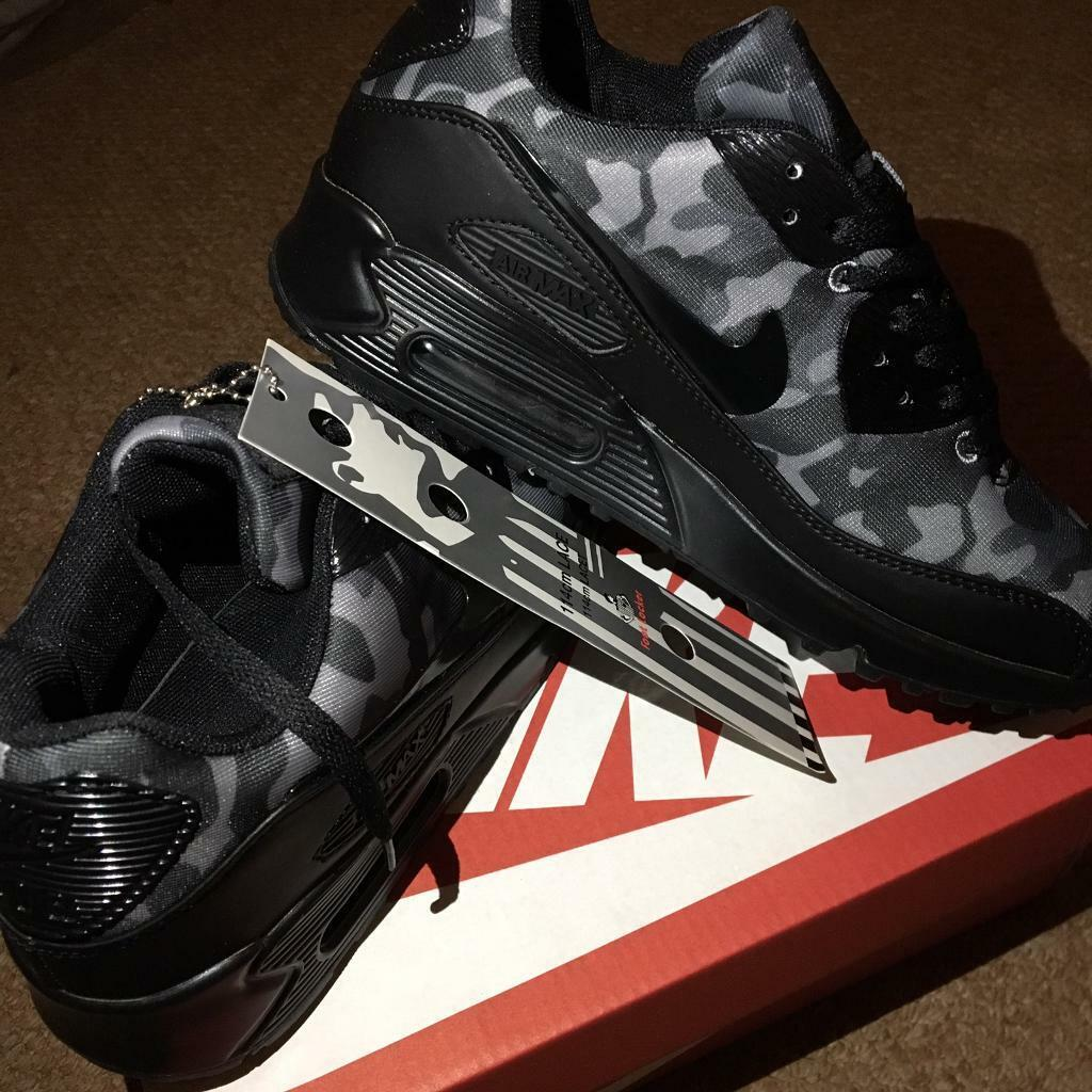 new product da4b9 5944c SIZE 7 8 9 10 11 BRAND NEW NIKE AIR MAX 90 BOXED TRAINERS BLACK CAMO (NOT)  tn 110 95 97 Airmax | in Erdington, West Midlands | Gumtree