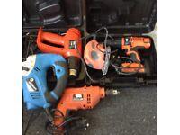 Black and decker job lot tools