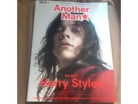 Another Man Magazine Harry Styles (One Direction) Cover Issue 23 Autumn/Winter 2016 Mens Fashion