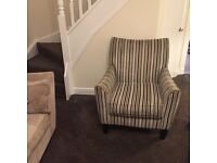 Lovely Sterling Large sofa and two armchairs