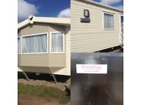 Caravan to rent at Haven Perran Sands