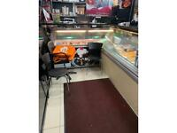 Take away and ice cream parlour for sale