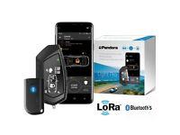Pandora Pager Car Alarm, Remote Engine Start, Immobiliser Shock, Tilt, Movement Sensors