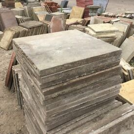 Reclaimed 600x600 Paving Slabs Ideal Shedbase etc