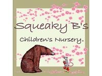 Nursery nurse required