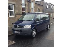 VW Transporter T5 Jerba Cromarty Campervan LWB T32 2.5 TDI Manual VAT paid 2005 159k miles