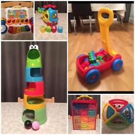 Vtech/ELC/B.Toy/Megabloks Toy Bundle