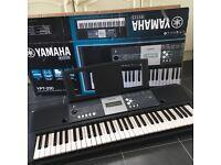 Hardly used Yamaha electric keyboard